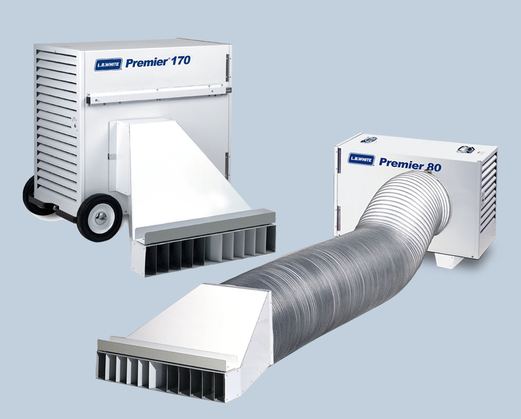 New Premier Heaters From L B White Canadian Rental Service