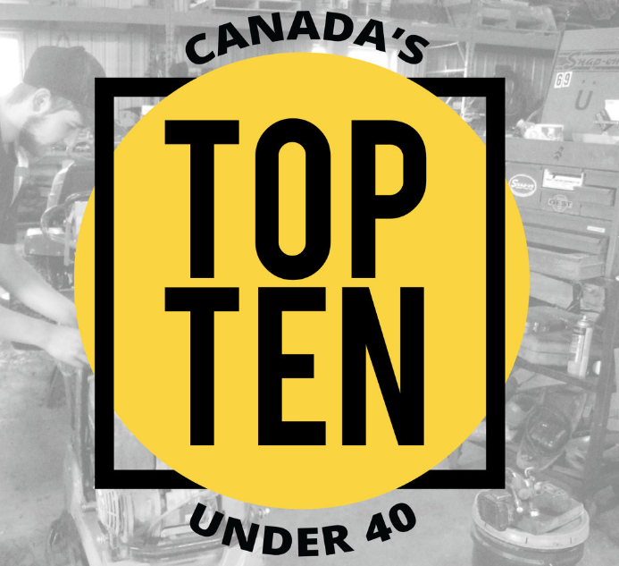 Canada's top 10 under 40